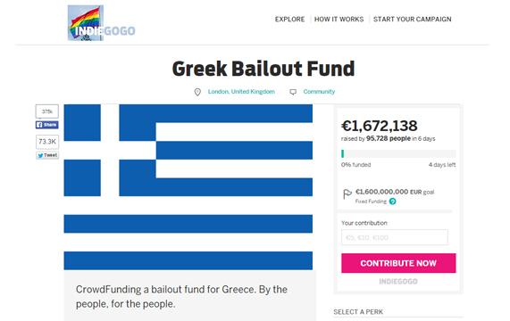 COME POSSO AIUTARE LA GRECIA?