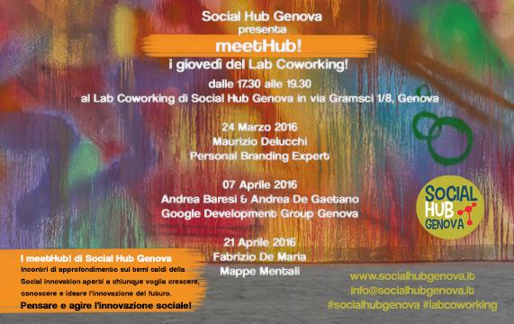 meetHUB al LabCoworking di Social Hub Genova !