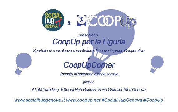 COOPUP PER LA LIGURIA