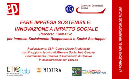 Fare impresa sostenibile: Innovazione a impatto sociale