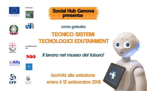 corso TECNICO SISTEMI TECNOLOGICI EDUTAINMENT