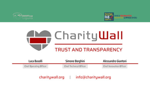 Charity Wall startUp di Social Hub Genova